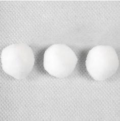 """50 décorations de table """"Boules de neige"""""""