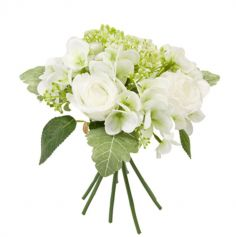 bouquet-rose-hortensias-decoration | jourdefete.com