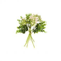 Bouquet de Buis et Spiree à 6 Tiges - Couleur au Choix