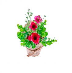 bouquet-fleurs-eucalyptus-renoncule|jourdefete.com