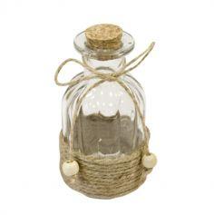 bouteille-verre-avec-corde-contenant-dragees|jourdefete.com