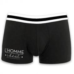 """Boxer pour homme """" L'homme idéal """" - Taille au Choix"""