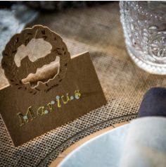 """10 Marque-Places - Kraft - Couronne de Laurier """"Amour"""""""