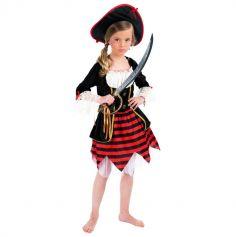 Déguisement de Fille Pirate pour Enfant