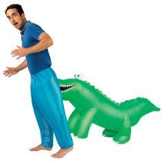 Déguisement gonflable pour adulte - Crocodile