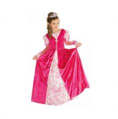 Costume de Princesse Rose de Luxe Fille - Taille au Choix
