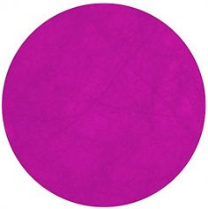 10 Sets de table ronds - Fuchsia