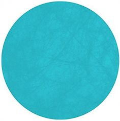 10 Sets de table ronds – Turquoise