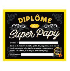 diplome-cadre-super-papy | jourdefete.com