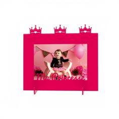 """Cadre Photo """"Ma Princesse"""" - Fuchsia"""
