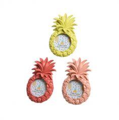 Cadre Photo Ananas - Couleur au Choix | jourdefete.com
