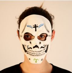 Masque en Latex Day Of The Dead Homme