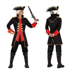 Capitaine pirate homme - Taille au choix