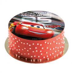 Disque en Azyme Cars™ - 20 cm