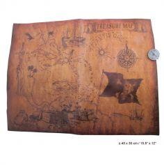 Carte au trésor et Boussole de Pirate