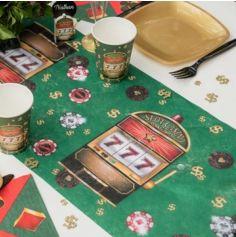 Chemin de table 30cmx5m - Collection Casino