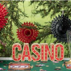 Lettres lumineuses CASINO - Collection Casino