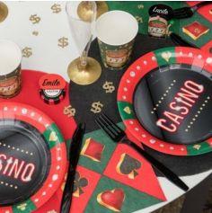 20 Serviettes en papier - Collection Casino