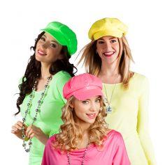 Casquette-Fluo-à-Sequins-Divers-coloris | jourdefete.com