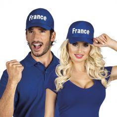 Casquette Bleue de Supporter France - Taille Réglable