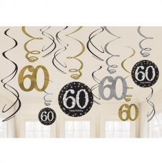 Suspensions 60 Ans - Or / Argent
