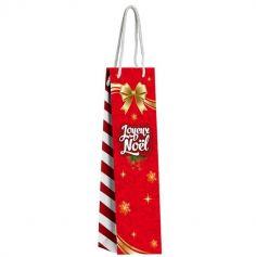 Pochette Cadeau Noël - Bouteille à Vin