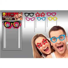 "Pack photo booth ""Lunettes"""