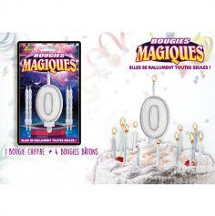 Bougies magiques – Chiffre 0