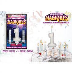Bougies magiques – Chiffre 1