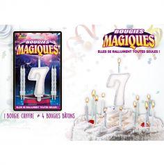 Bougies magiques – Chiffre 7
