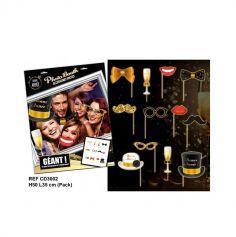 """Pack Photo Booth Géant """"Bonne Année"""""""