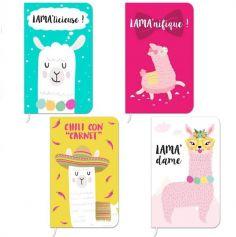 Carnet Lama - Modèle au choix