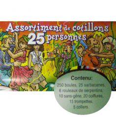 cotillons pour 25 personnes
