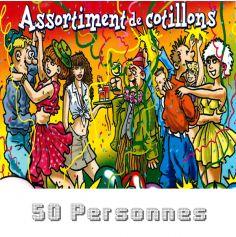 Lot Cotillons 50 personnes