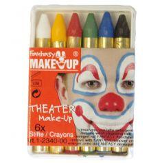Palette de Crayons de Maquillage PM 6 couleurs