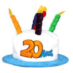 chapeau joyeux anniversaire 20 ans