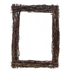 cadre avec branches de bois | jourdefete.com