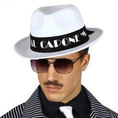 Chapeau Borsalino Blanc - Al Capone