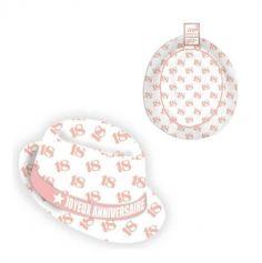 chapeau-borsalino-age-rose-anniversaire | jourdefete.com