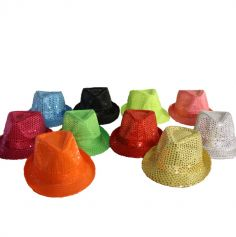 chapeau-paillettes-sequins-borsalino | jourdefete.com