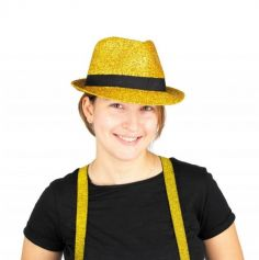 Chapeau Borsalino Shiny pour adulte - Couleur au Choix