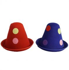 chapeau-clown-pois-drole | jourdefete.com