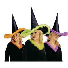 Chapeau de Sorcière coloris au choix