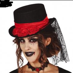 Chapeau - halloween - vampire - élégant | jourdefete.com
