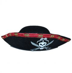 chapeau-corsaire-pirate-tete-mort | jourdefete.com