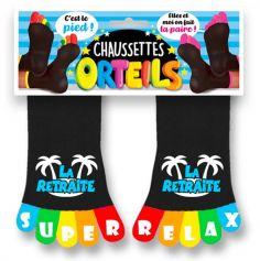 chaussettes-orteils-retraite-cadeau | jourdefete.com