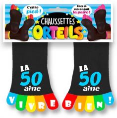 chaussettes-cadeau-drole-50-ans | jourdefete.com