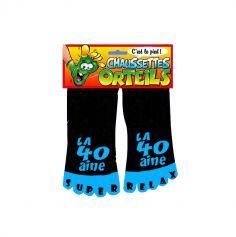 Chaussettes à orteils - La 40aine