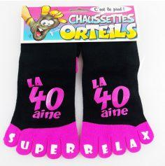 Chaussettes à Orteils 40 Aine