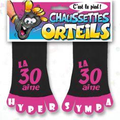 Chaussette à Orteil 30 Aine Rose